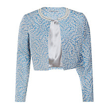 Buy Gina Bacconi Jacquard Jacket, Blue Online at johnlewis.com