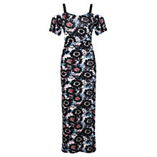 Buy Miss Selfridge Petite Floral Maxi Dress, Multi Online at johnlewis.com