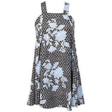 Buy Miss Selfridge Petite Floral Pinny Dress, Multi Online at johnlewis.com