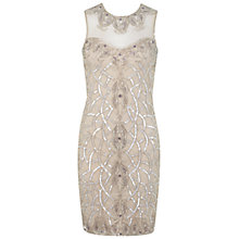 Buy Miss Selfridge Sweetheart Bodycon Dress, Nude Online at johnlewis.com