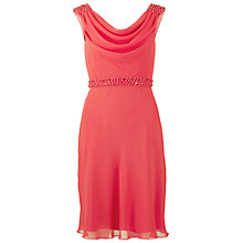 Buy Gina Bacconi Chiffon Cowl Neck Dress Online at johnlewis.com