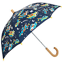 Buy Hatley Children's Space Cars Umbrella, Navy Online at johnlewis.com