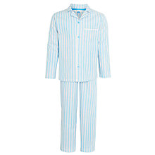 Buy John Lewis Boy Classic Stripe Pyjamas, Blue Online at johnlewis.com