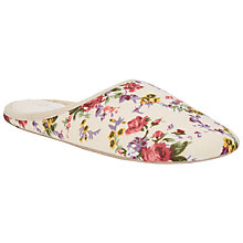 Buy John Lewis Floral Mule Slippers, Multi Online at johnlewis.com