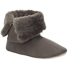 Buy John Lewis Microsuede Boot Slippers Online at johnlewis.com