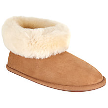 Buy John Lewis Sheepskin Boot Slippers Online at johnlewis.com