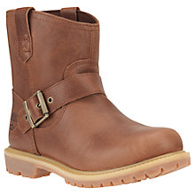 Buy Timberland Women's 6-Inch Premium Pull On Waterproof Boot, Brown Leather Online at johnlewis.com