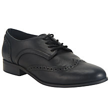 Buy John Lewis Lace Up Brogues, Black Online at johnlewis.com