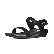 Buy FitFlop Banda Foil Sandals Online at johnlewis.com