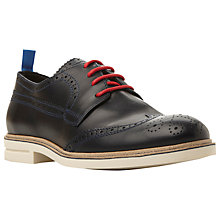 Buy Bertie Collective Leather Brogue Shoes Online at johnlewis.com
