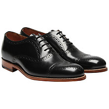Buy Grenson Matthew Toe Cap Brogues Online at johnlewis.com