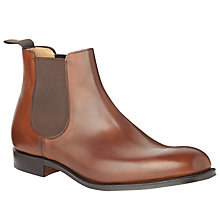 Buy Church's Houston Leather Chelsea Boots, Walnut Online at johnlewis.com
