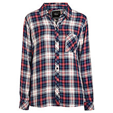 Buy Rails Hunter Plaid Shirt, Rouge/Navy Online at johnlewis.com
