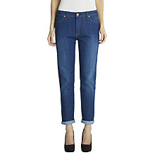 "Buy Lee Sallie Slim Boyfriend Jeans 31"", Midnight Blue Online at johnlewis.com"