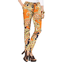 Buy Lauren Ralph Lauren Slim Print Trousers, Multi Online at johnlewis.com