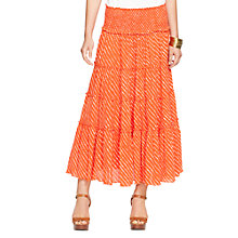 Buy Lauren Ralph Lauren Tiered Printed Skirt Online at johnlewis.com