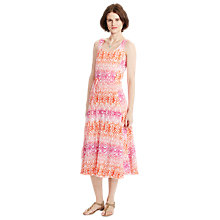 Buy Lauren Ralph Lauren Jersey Print Midi Dress, Multi Online at johnlewis.com