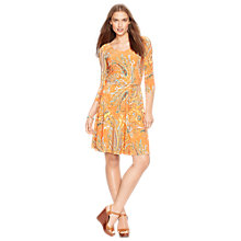 Buy Lauren Ralph Lauren Verity Dress, Multi Online at johnlewis.com