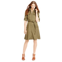 Buy Lauren Ralph Lauren Shirtdress, Olive Marsh Online at johnlewis.com