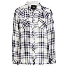Buy Rails Kendra Plaid Shirt, White Indigo Online at johnlewis.com