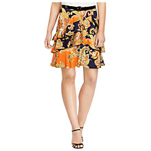 Buy Lauren Ralph Lauren Ruffle Skirt, Multi Online at johnlewis.com