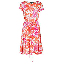 Buy Lauren Ralph Lauren Zuri Floral Dress, Pink Multi Online at johnlewis.com