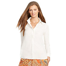 Buy Lauren Ralph Lauren Pullover Top, Pearl Online at johnlewis.com