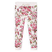 Buy Mango Kids Girls' Floral Joggers Online at johnlewis.com