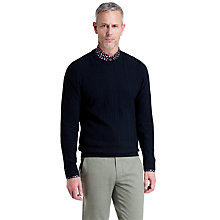 Buy Ted Baker T for Tall Houston Cable Knit Jumper, Navy Online at johnlewis.com