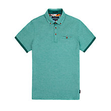 Buy Ted Baker T for Tall Broklin Oxford Polo Shirt Online at johnlewis.com