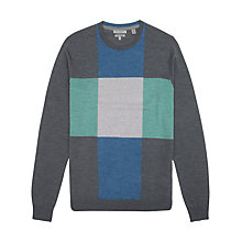 Buy Ted Baker Phoenix T for Tall Checked Merino Wool Jumper Online at johnlewis.com