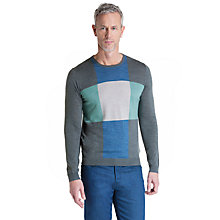 Buy Ted Baker T for Tall Phoenix Checked Merino Wool Jumper Online at johnlewis.com