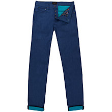 Buy Ted Baker T for Tall Durham Slim Jeans, Turquoise Online at johnlewis.com