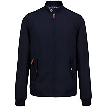 Buy Ted Baker T for Tall Hampton Bomber Jacket, Navy Online at johnlewis.com