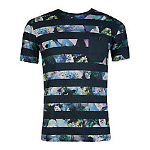 Buy Ted Baker T for Tall Garmdis Floral Stripe T-shirt Online at johnlewis.com