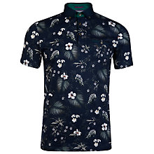 Buy Ted Baker T for Tall Hitchen Floral Print Polo Shirt Online at johnlewis.com