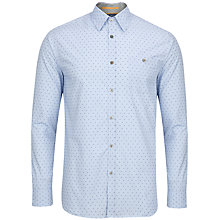 Buy Ted Baker Gudmood Cotton Fil Coupe Shirt Online at johnlewis.com