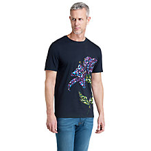 Buy Ted Baker T for Tall Kipsbay Graphic Print T-Shirt, Navy Online at johnlewis.com