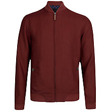 Buy Ted Baker Linbo Linen Bomber Jacket Online at johnlewis.com