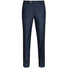 Buy Ted Baker T for Tall Lubtro Textured Trousers, Navy Online at johnlewis.com