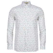 Buy Ted Baker T for Tall Tacoma Floral Printed Shirt, White Online at johnlewis.com