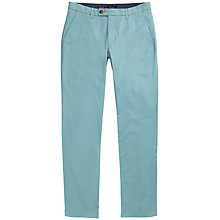 Buy Ted Baker T for Tall Norfolk Slim Fit Chinos, Turquoise Online at johnlewis.com