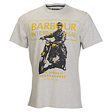 Buy Barbour International Arch T-Shirt Online at johnlewis.com