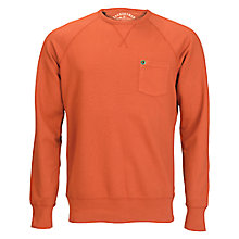 Buy Barbour Laundryman Laundered Crew Neck Long Sleeve Top Online at johnlewis.com