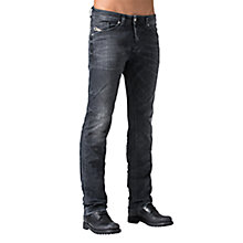 Buy Diesel Darron 669F Slim Fit Jeans, Grey Online at johnlewis.com