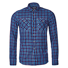 Buy Barbour International Morris Check Shirt, Indigo Online at johnlewis.com