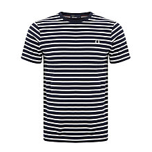 Buy Fred Perry Breton Stripe T-Shirt Online at johnlewis.com