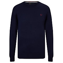 Buy Fred Perry Crew Neck Merino Jumper Online at johnlewis.com