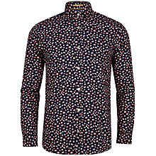 Buy Ted Baker T for Tall Tacoma Floral Printed Shirt, Navy Online at johnlewis.com