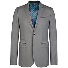 Buy Ted Baker T for Tall Lubbock Textured Blazer, Grey Online at johnlewis.com